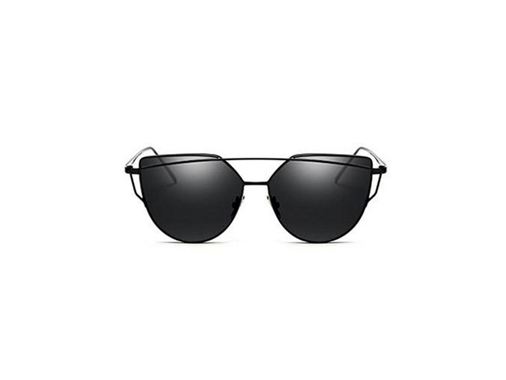 Γυναικεία Γυαλιά Ηλίου Καθρέφτης Cat Eye Sunglasses με Μαύρο Μεταλλικό σκελετό κ γυαλιά ηλίου   γυναικεία γυαλιά ηλίου