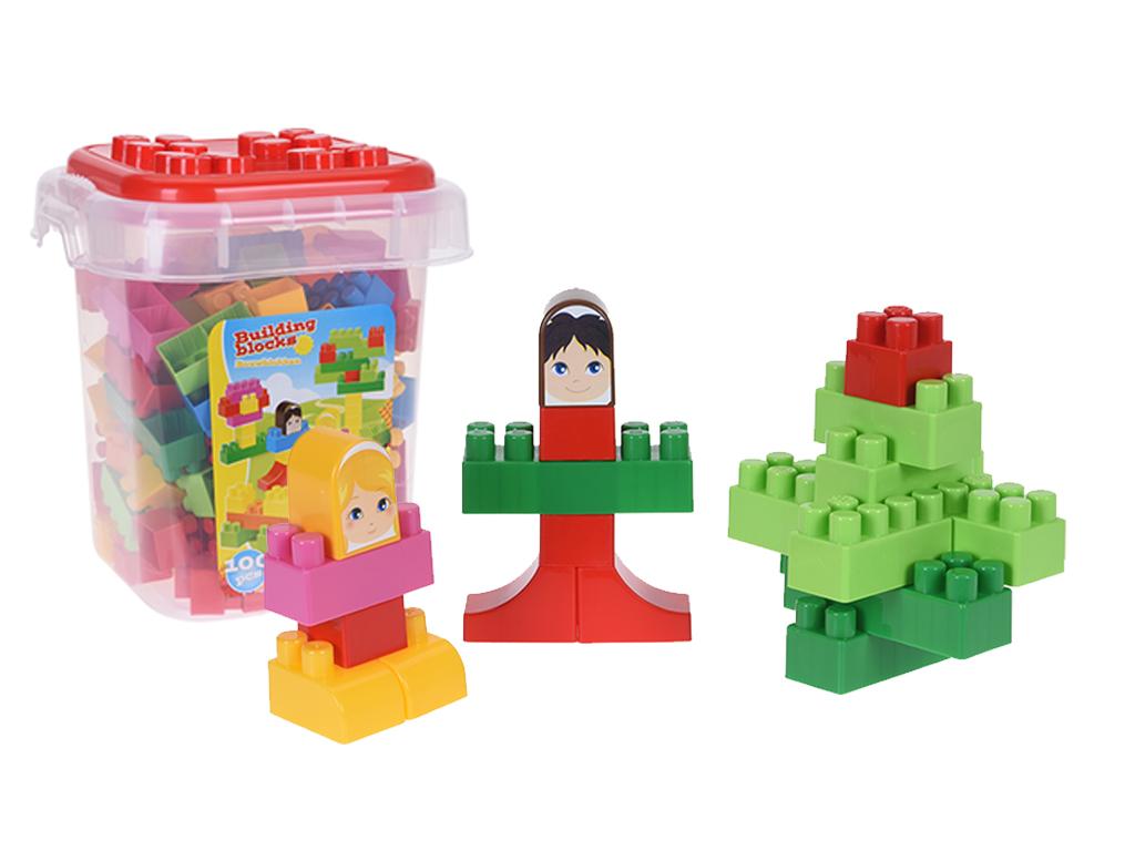 c94a356720d Σετ Πλαστικά Τουβλάκια 100 τεμ. σε συσκευασία μεταφοράς για ατέλειωτες ώρες  παιχνιδιού και δημιουργίας κατάλληλο για παιδιά άνω των 3 ετών |  Εκπαιδευτικά ...