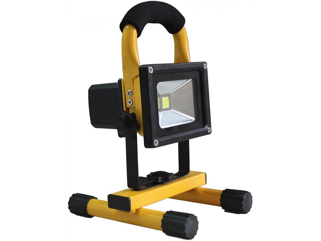 Camry Φορητός Προβολέας LED 10W Υψηλής Φωτεινότητας 1000-1100LM σε Κίτρινο χρώμα σπίτι και κήπος   ηλεκτρολογικός εξοπλισμός