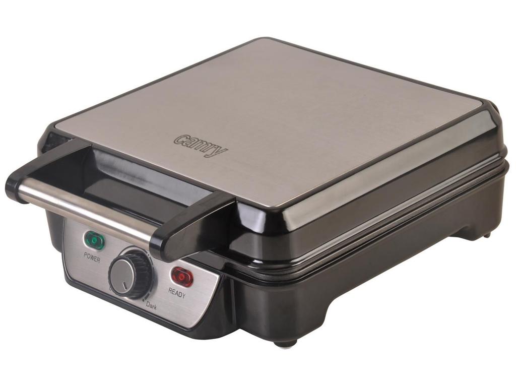 Camry Waffle Maker Συσκευή Παρασκευής Βάφλας Βαφλιέρα 1150W και με 4 βαθιές τετρ ηλεκτρικές οικιακές συσκευές   παρασκευαστές βάφλας