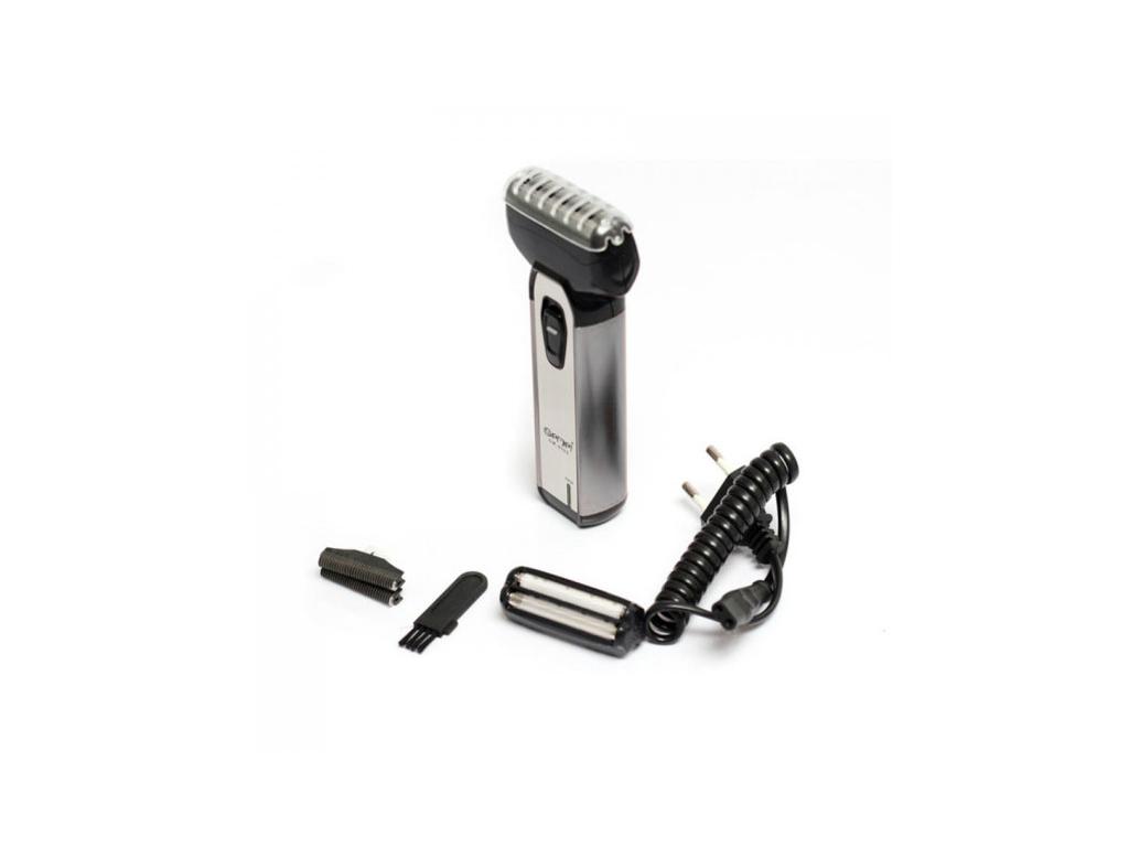 GEMEI Επαναφορτιζόμενη Ξυριστική Μηχανή από ανοξείδωτο ατσάλι, GM-9500 - GEMEI κομμωτική   κουρευτικές και ξυριστικές μηχανές