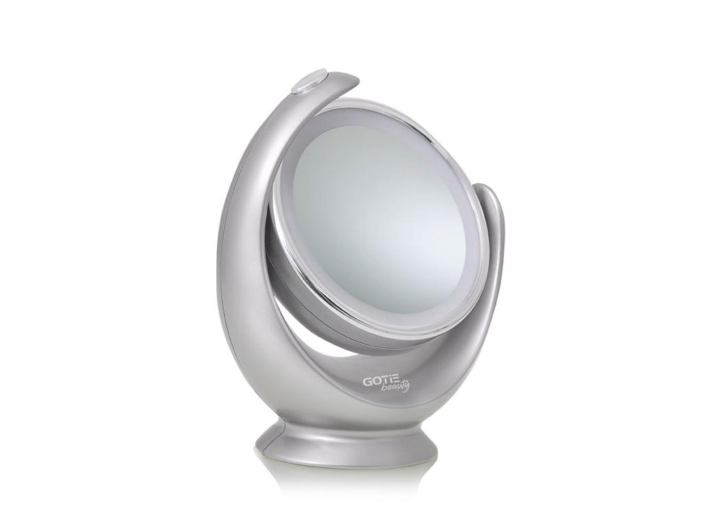 GOTIE Beauty Perfect Mirror Φωτιζόμενος Μεγεθυντικός Καθρέφτης Led διαμέτρου 13. υγεία και ομορφιά   καθρέφτες
