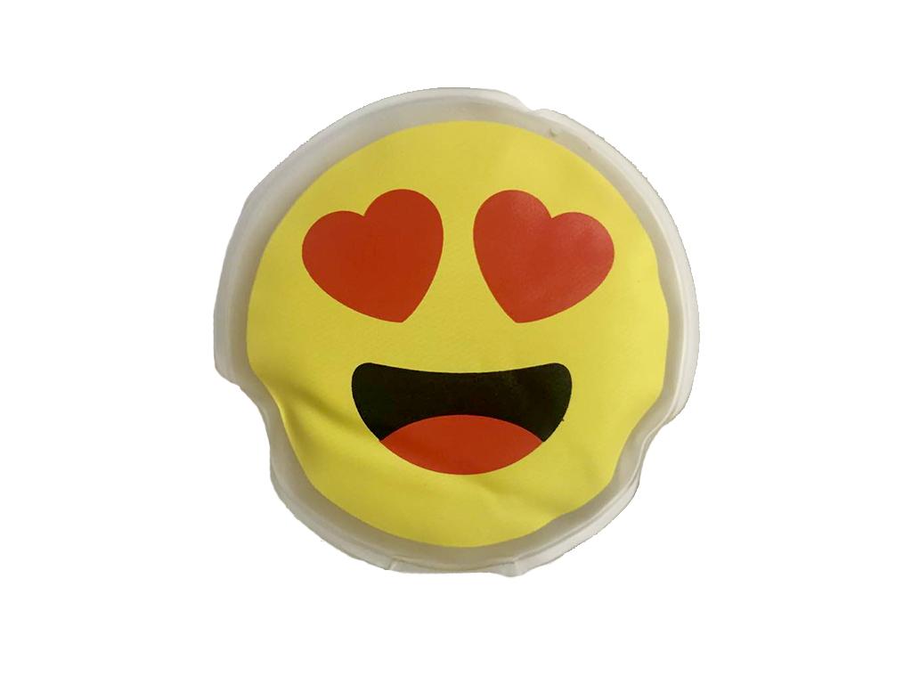 Θερμαινόμενο Pad Χεριών με θέμα Emoticon Emoji 9.5cm, 10/5160 - Out Of The Blue