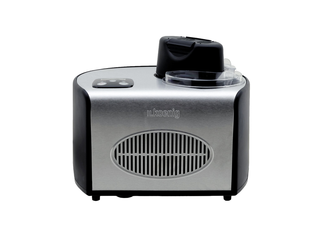 H.Koenig Παγωτομηχανή 150W χωρητικότητας 1.5L με οθόνη αφής LCD για Παραγωγή 8 μ ηλεκτρικές οικιακές συσκευές   παγωτομηχανές