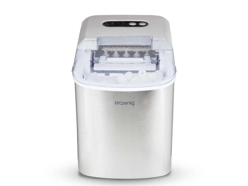H.Koenig Παγομηχανή Συσκευή Παραγωγής για Παγάκια 120W χωρητικότητας 2.1L με οθό ηλεκτρικές οικιακές συσκευές   διάφορες οικιακές συσκευές
