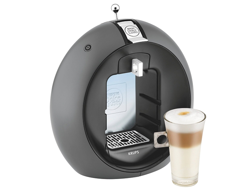 Krups Dolce Gusto Circolo Καφετιέρα Μηχανή Nescafe Πολυκαφετιέρα 1500W 1.3Lt 15b ηλεκτρικές οικιακές συσκευές   καφετιέρες και είδη καφέ