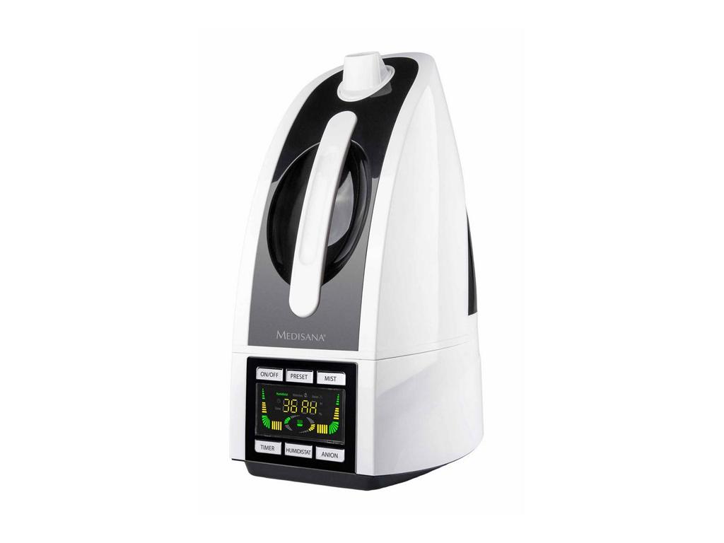 Medisana Υγραντήρας 4.5L 30W με Υπερήχους, χρονοδιακόπτη και Υψηλή αποδοτικότητα θέρμανση και κλιματισμός   υγραντήρες και αφυγραντήρες