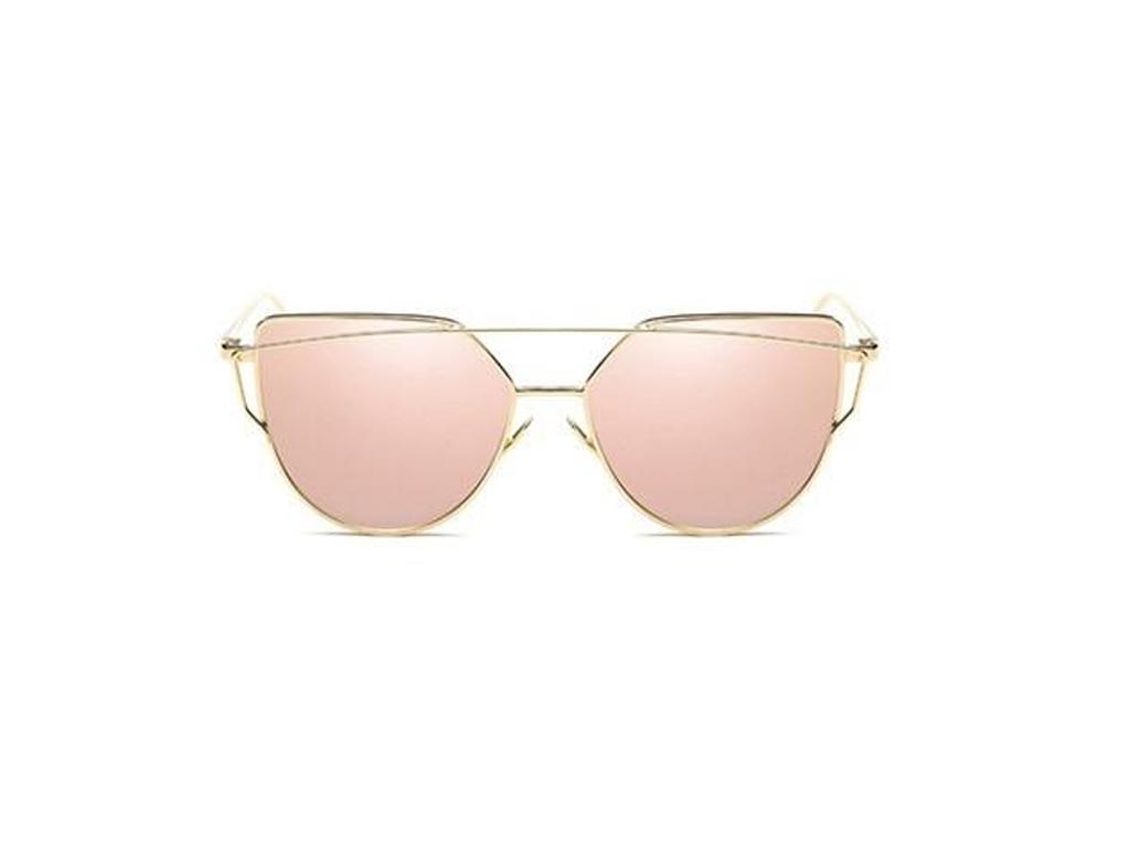 Γυναικεία Γυαλιά Ηλίου Καθρέφτης Cat Eye Sunglasses με Χρυσό Μεταλλικό σκελετό κ γυαλιά ηλίου   γυναικεία γυαλιά ηλίου