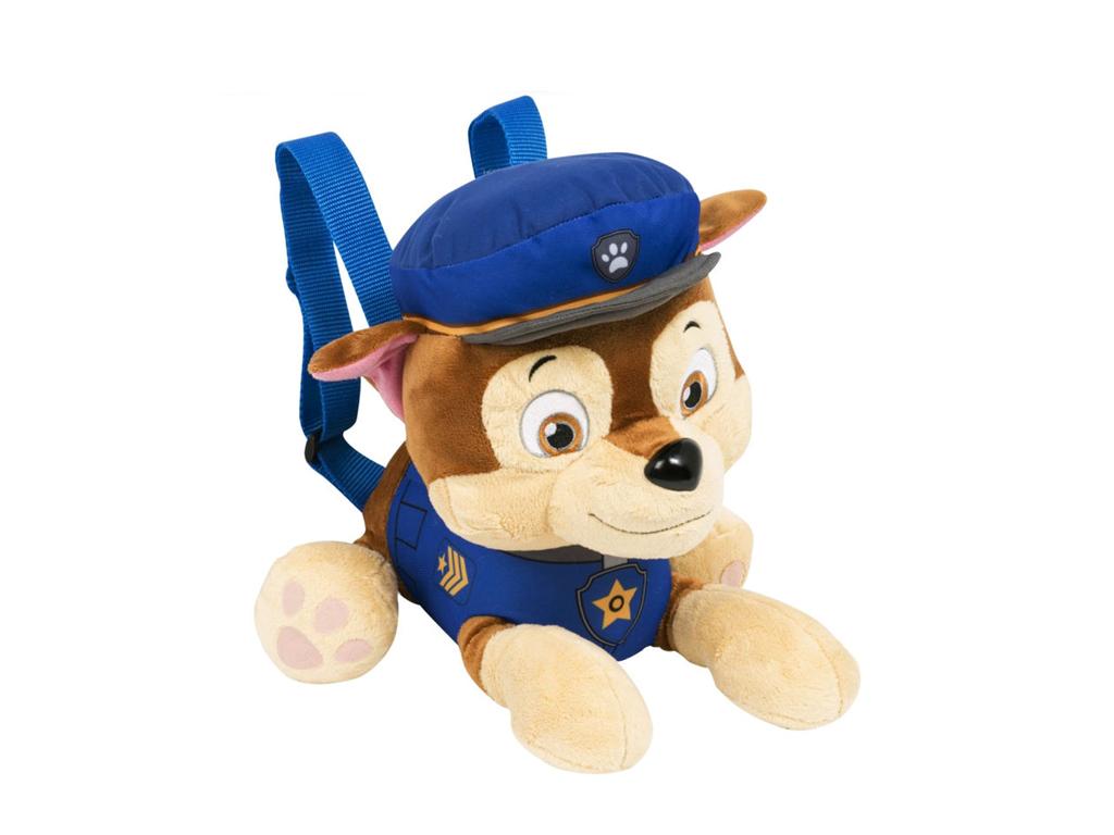 48624150b7 Disney Παιδική Τσάντα με Λούτρινο Σκυλάκι Paw Patrol 35x25x12cm με  ρυθμιζόμενους ιμάντες και φεμρουάρ Official Licensed Product