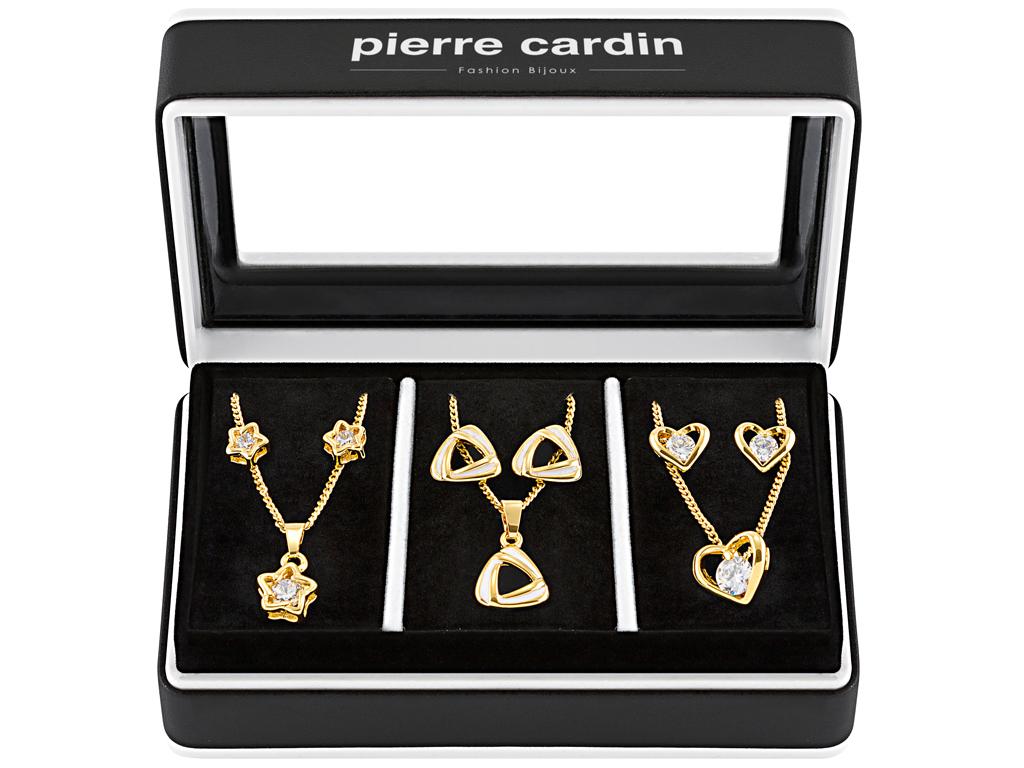 Pierre Cardin Gift Set PXX0222 Σετ συλλογή Κοσμημάτων από κράμα χρυσού, ρόδιο, μ γυναικεία αξεσουάρ και κοσμήματα   σετ κοσμημάτων