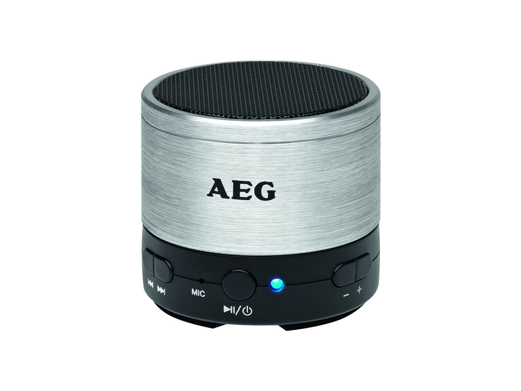 AEG Φορητό Ηχείο Bluetooth με Επαναφορτιζόμενη Μπαταρία 400 mAh, Υποδοχή USB/AUX ήχος   bluetooth ηχεία