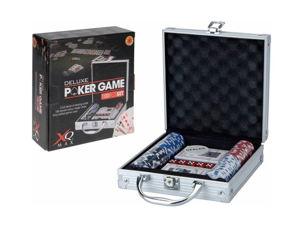 Σετ Βαλίτσα πόκερ με 200 Μάρκες Πόκερ Casino με 2 Τράπουλες, 5 Ζάρια και Μάρκα D gadgets   παιχνίδια για όλους