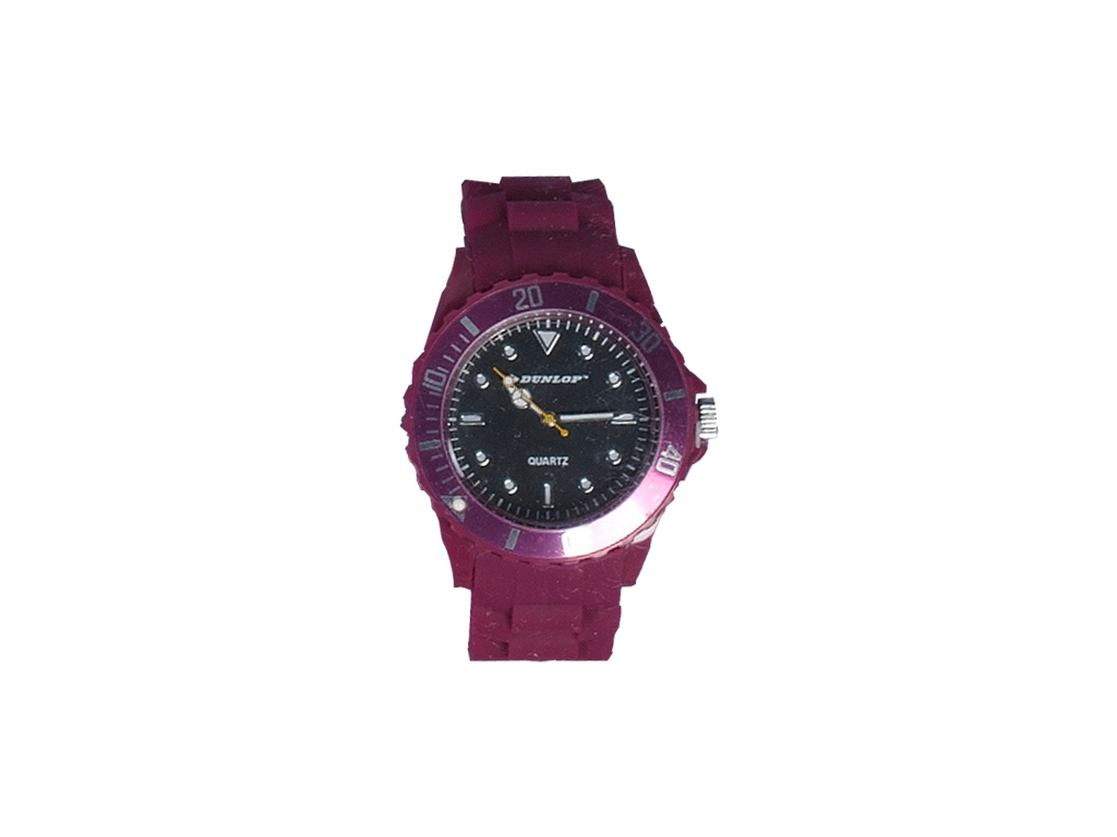 Dunlop Ρολόι Trendy Unisex Ελβετικός Μηχανισμός Quartz Λουράκι από Σιλικόνη Βυσσ ρολόγια χειρός   unisex ρολόγια χειρός