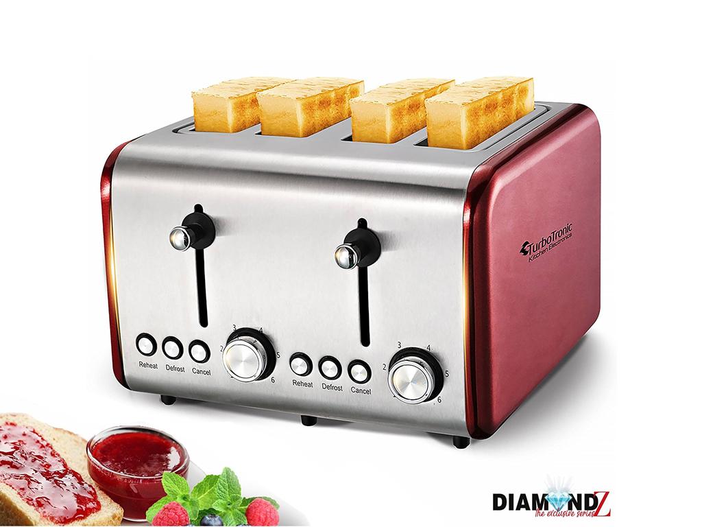 TurboTronic Τοστιέρα Σαντουιτσιέρα Φρυγανιέρα 1500W με 4 Θέσεις και Λαβές για τα ηλεκτρικές οικιακές συσκευές   τοστιέρες   σαντουιτσιέρες   φρυγανιέρες