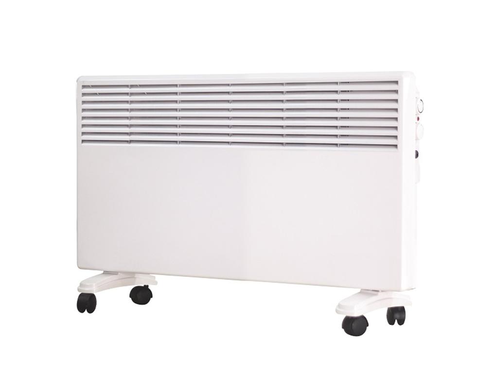 Muhler Ηλεκτρικό Θερμαντικό Σώμα Convector 2500W με 2 επίπεδα θέρμανσης και Ροδά θέρμανση και κλιματισμός   θέρμανση