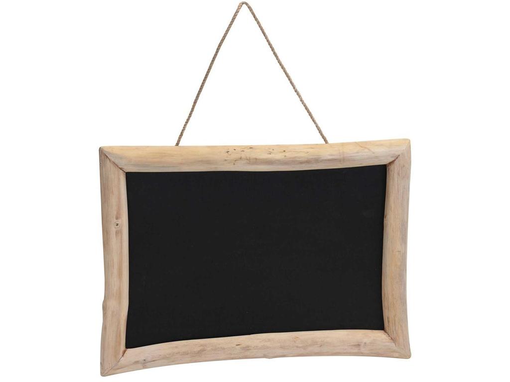 Κρεμαστός Ξύλινος Vintage Μαυροπίνακας Κιμωλίας για σημειώσεις 50x70x1cm, J11300 διακόσμηση και φωτισμός   πινακίδες  καμβάδες και αφίσες