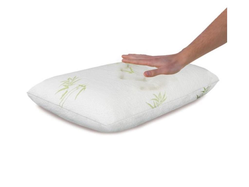 Jewel Bedding Ανατομικό Υποαλλεργικό Μαξιλάρι με Αφρό Μνήμης Memory Foam Bamboo, ξεκούραση και ευεξία   kαλύμματα  στρώματα και μαξιλάρια