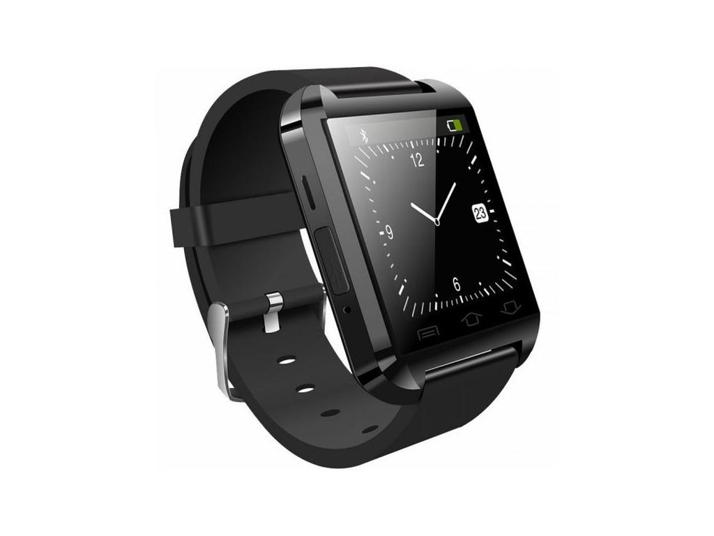 Brigmton SmartWatch - Έξυπνο Ρολόι που συνδέεται με το κινητό, οθόνης 1,44