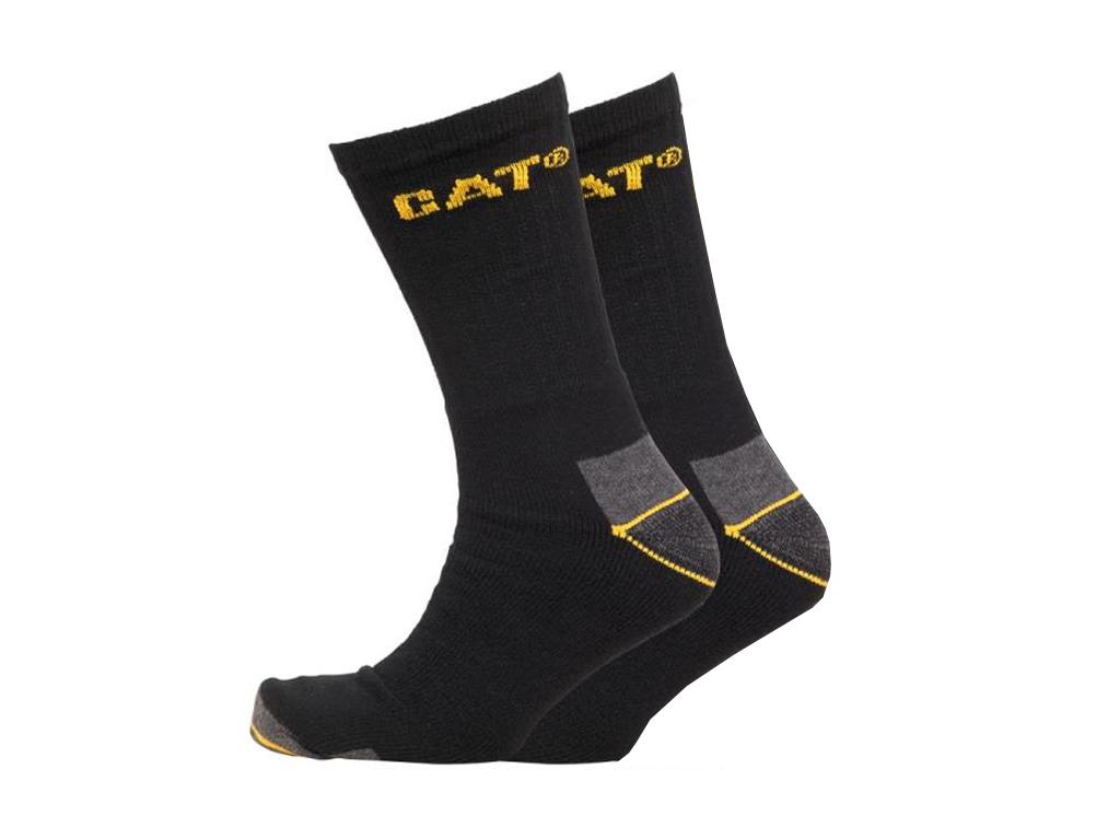 Caterpillar Κάλτσες Ζευγάρι Quarter πάνω από τον αστράγαλο σε Μαύρο χρώμα με Κίτ είδη ένδυσης και υπόδησης   κάλτσες