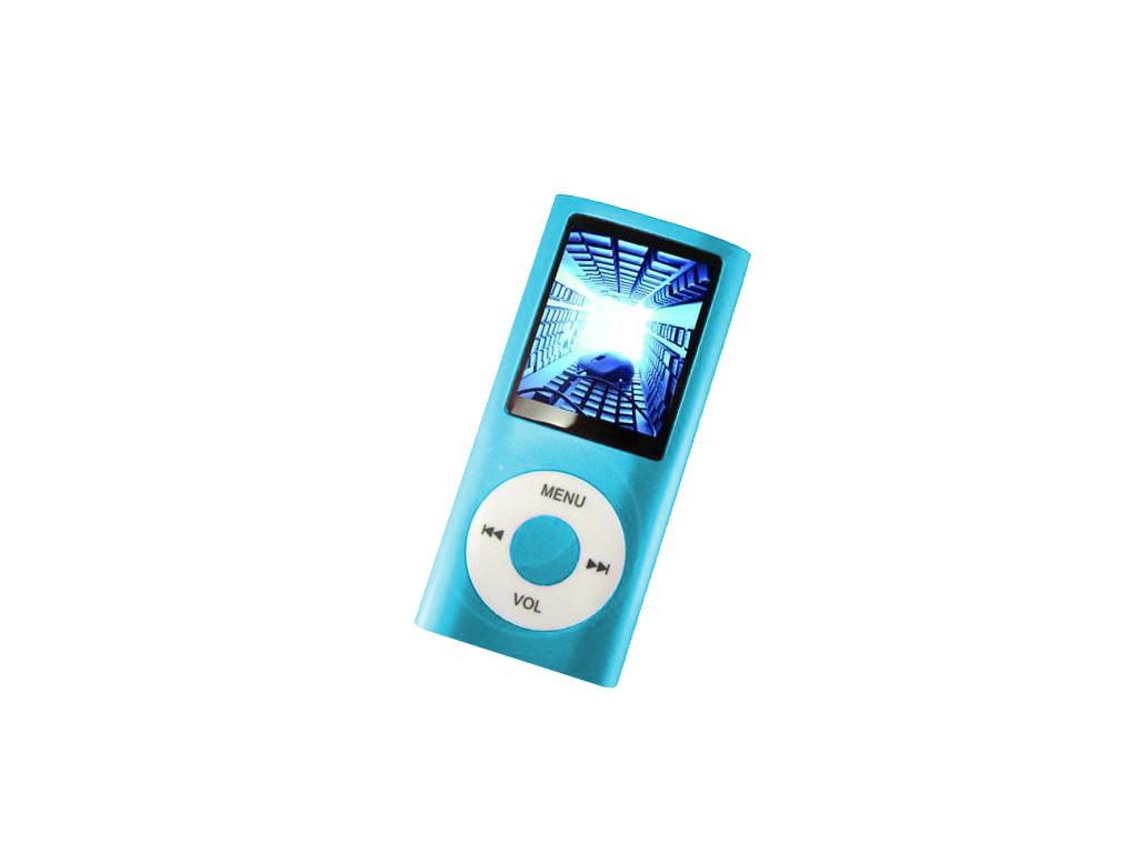 MP4 Player Συσκευή Αναπαραγωγής Ήχου, Μουσικής, Εικόνας & Video TFT 1.8 Γαλάζιο  τεχνολογία   cd   mp3 4   dvd   media players