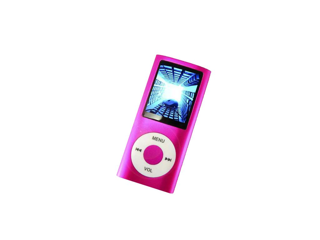 MP4 Player Συσκευή Αναπαραγωγής Ήχου, Μουσικής, Εικόνας & Video TFT 1.8 Φούξια - τεχνολογία   cd   mp3 4   dvd   media players