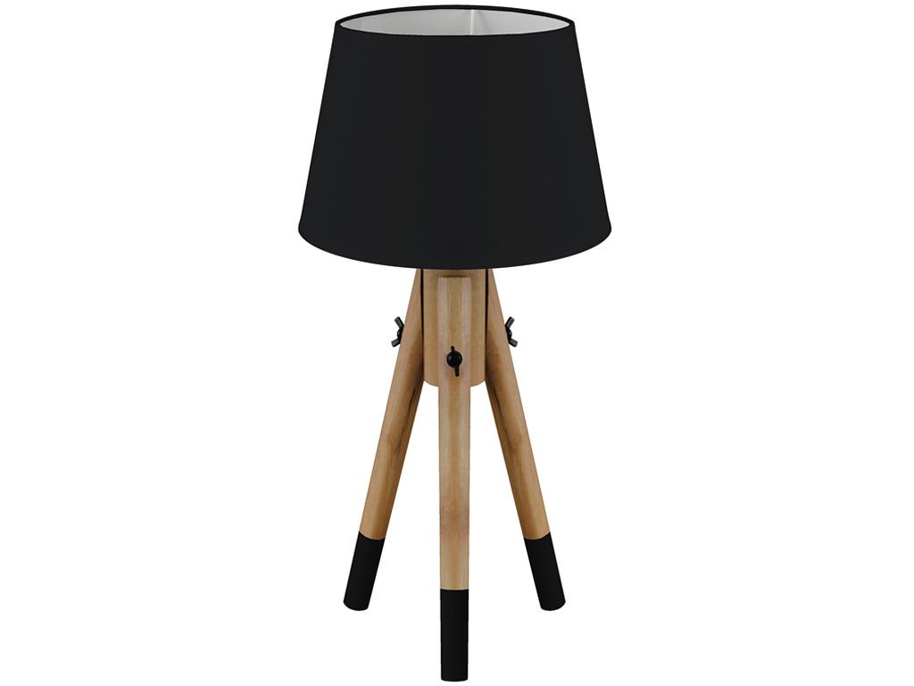 Επιτραπέζια Φωτιστικά E27 40W - ύψους 49cm σε Στρογγυλό σχήμα με τρία πόδια, HZ1 διακόσμηση και φωτισμός   φωτιστικά