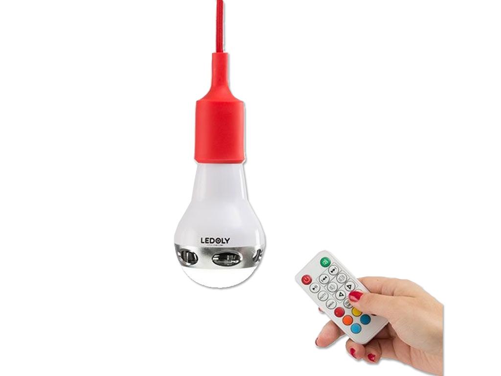 Πολύχρωμη Λάμπα Bluetooth με Ηχείο Μέγιστη Ισχύος 13W, Ledoly, C2000 - Ledoly διακόσμηση και φωτισμός   led φωτισμός