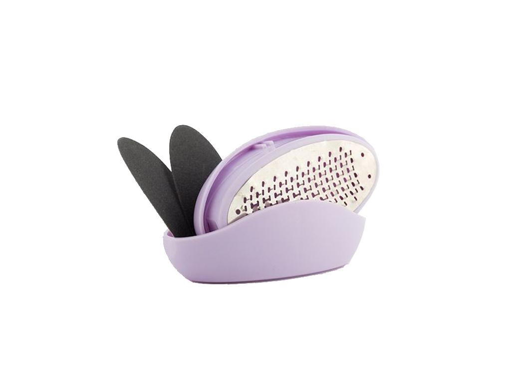 Μίνι Συσκευή Περιποίησης Ποδιών Αφαίρεσης κάλων σε Μωβ χρώμα, Mini Pedi Pro Pebb υγεία  και  ομορφιά   περιποίηση προσώπου
