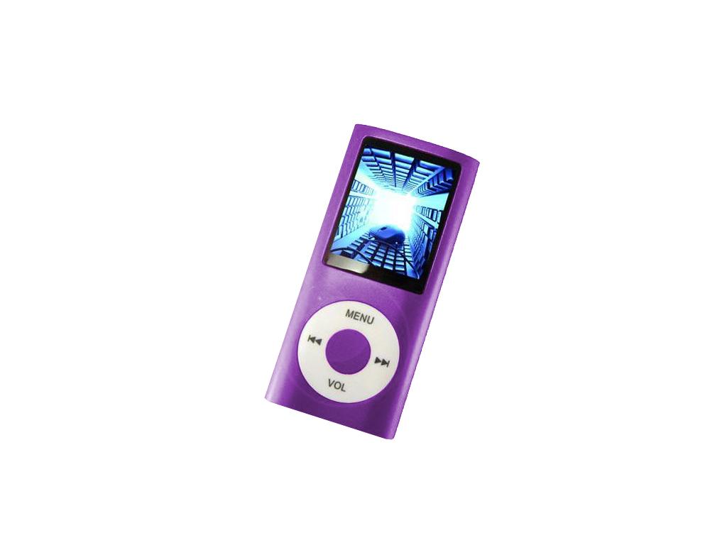 MP4 Player Συσκευή Αναπαραγωγής Ήχου, Μουσικής, Εικόνας & Video TFT 1.8 Μωβ - MP ήχος   mp3  mp4