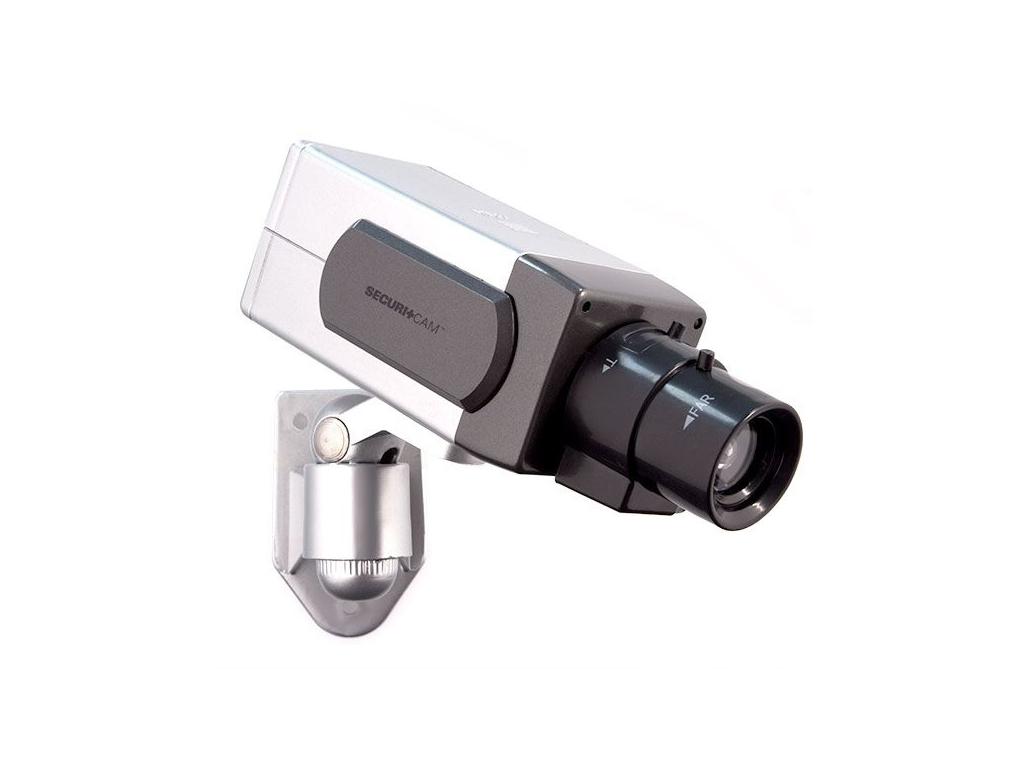 Ψεύτικη Κάμερα Παρακολούθησης Ασφαλείας με αισθητήρα κίνησης, Securitcam T6000,  αυτοματισμοί και ασφάλεια   κάμερες