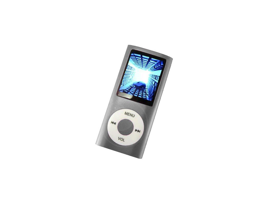 MP4 Player Συσκευή Αναπαραγωγής Ήχου, Μουσικής, Εικόνας & Video TFT 1.8 Ασημί -  ήχος   mp3  mp4