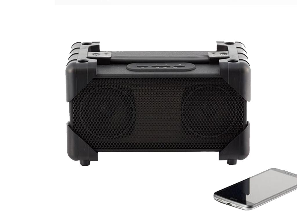 Φορητό Ηχείο Bluetooth Επαναφορτιζόμενο 2x1.7W Boombox hi-fi με Λαβή, I3505214 -