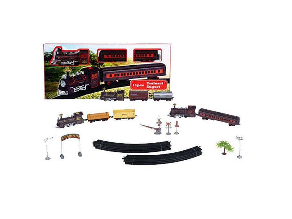 Eddy Toys Σετ Τρένο μπαταρίας 11 τεμ. με Ράγες, Βαγόνια και εξαρτήματα, 99155 -  παιχνίδια   άλλα παιχνίδια