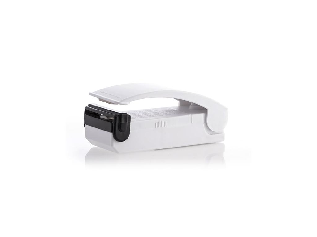 Συσκευή Σφράγισης για Σακούλες από Πλαστικό 10.5×9.5×4.5cm με Μαγνίτη σε Λευκό χρώμα, InnovaGoods Kitchen V0100444 – InnovaGoods