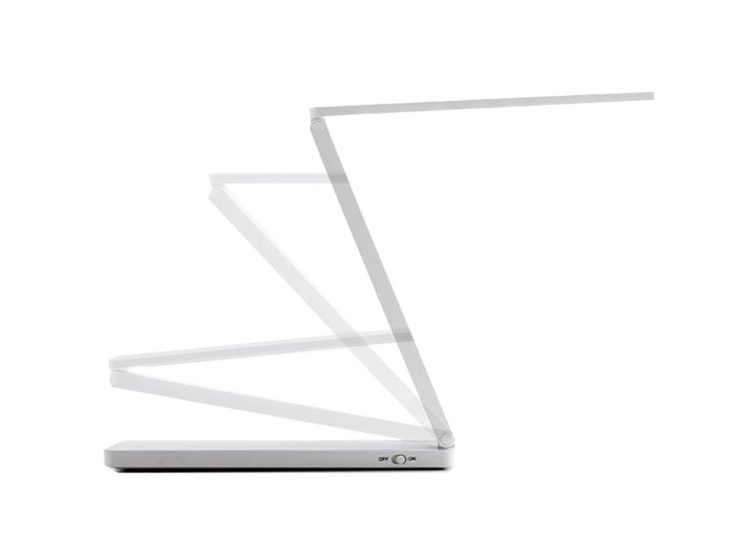 Μίνι Μοντέρνο Πτυσσόμενο Φωτιστικό Γραφείου LED Λευκού Φωτός 1.5W με USB, Zlim L διακόσμηση και φωτισμός   led φωτισμός