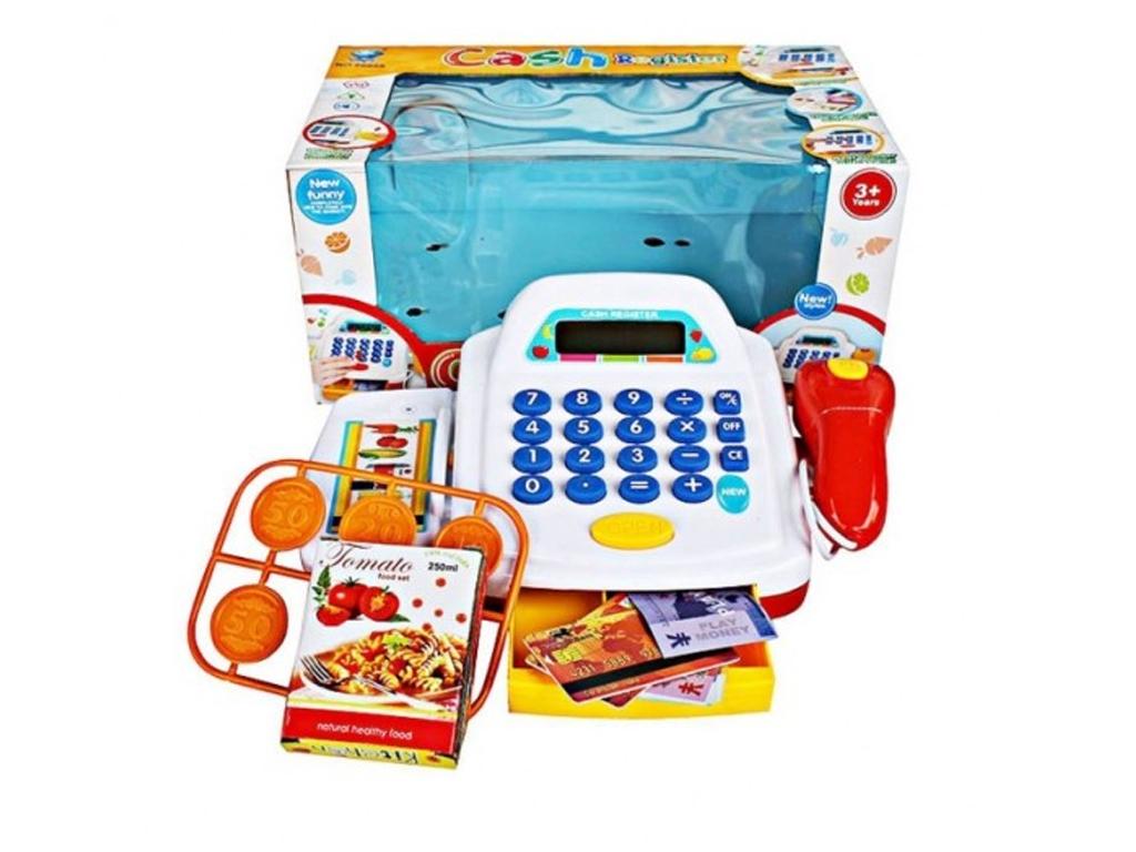 Παιδικό Παιχνίδι Ταμειακή Μηχανή με Λειτουργία ήχου και φωτός που περιλαμβάνει ψ παιχνίδια   άλλα παιχνίδια