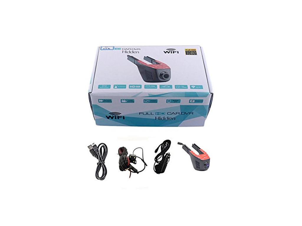 Καταγραφικό DVR Ψηφιακή Κάμερα Αυτοκίνητου Full HD 1920x1080p Wi-Fi με Ανιχνευτή αξεσουάρ αυτοκινήτου   καταγραφικά dvr   κάμερες