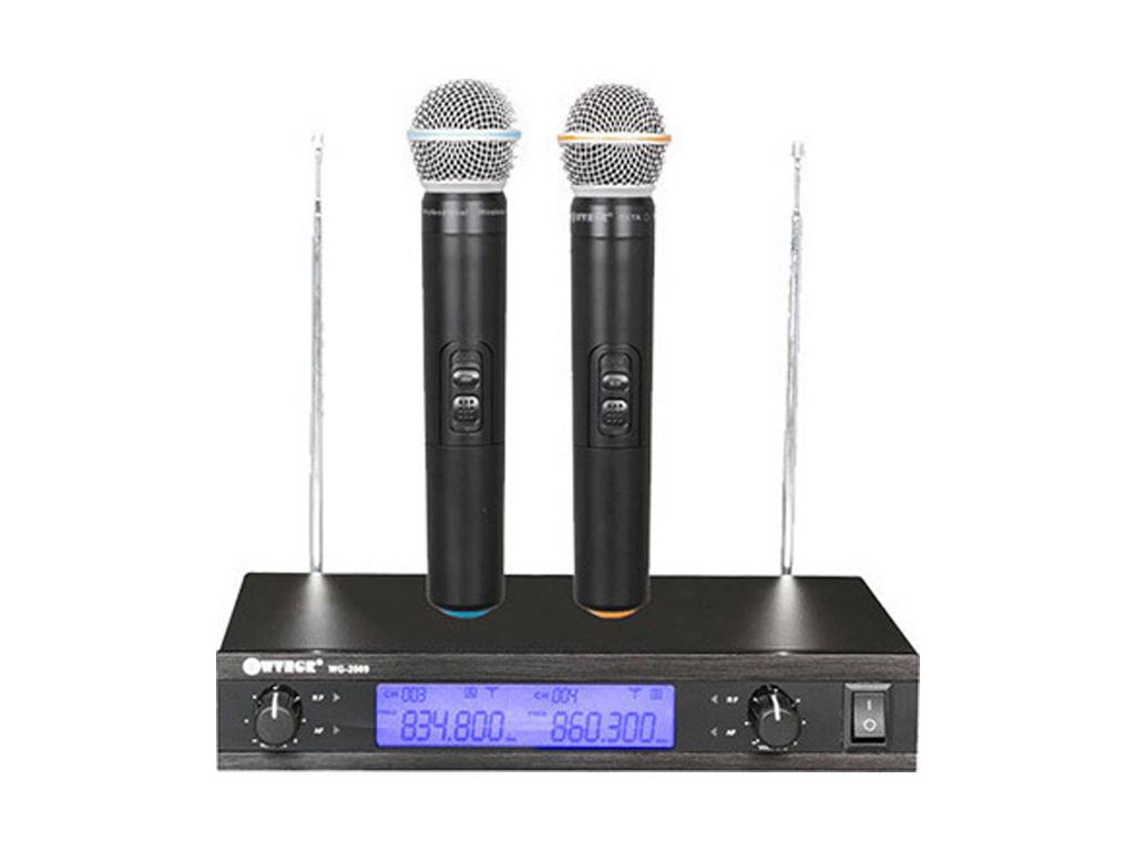 Ψηφιακή Studio Quality Συσκευή για Karaoke Καραόκε με 2 Ασύρματα Μικρόφωνα, WG-2 εκδηλώσεις και γιορτές   καραόκε