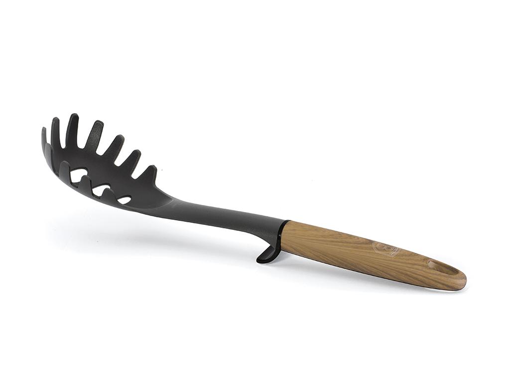 Berlinger Haus Εργαλείο Κουζίνας Τρυπητή Πιρούνα για μακαρόνια Spaghetti σε Μαύρ αξεσουάρ και εργαλεία κουζίνας   κουτάλες   σπάτουλες   πιρούνες
