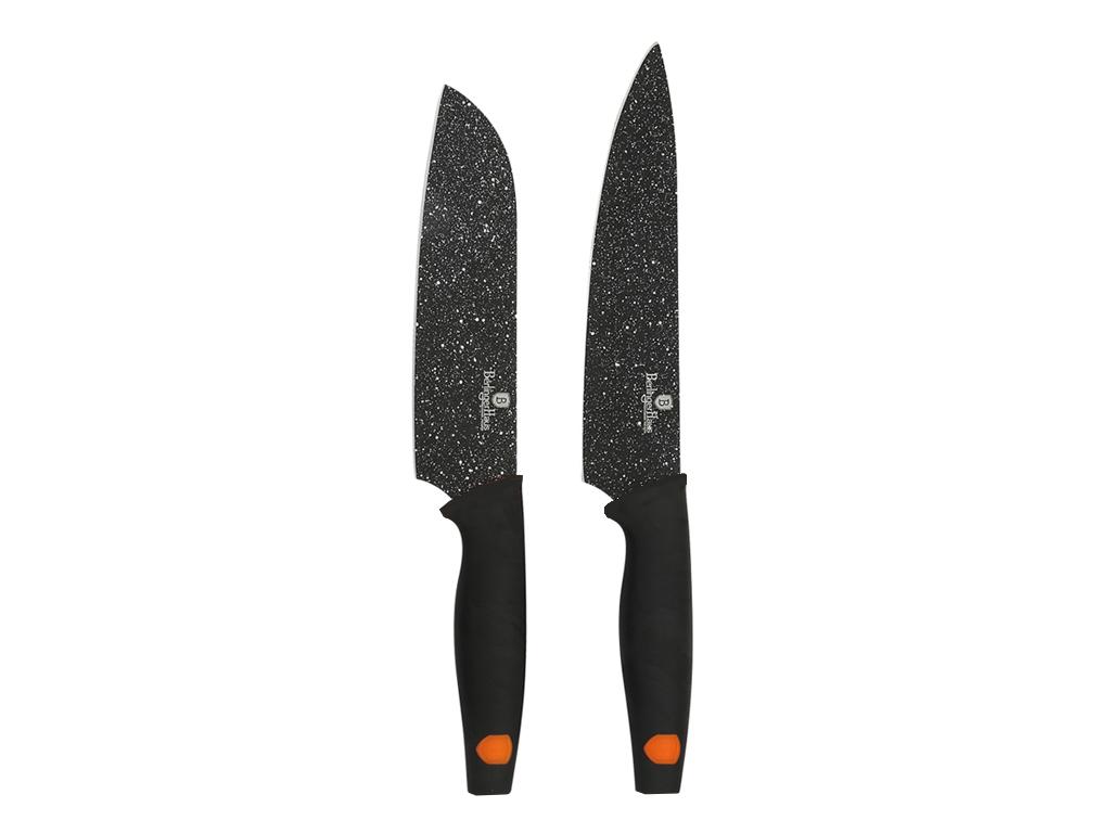 Berlinger Haus Σετ Αντιβακτηριδιακών Αντικολλητικών Μαχαιριών 2 τεμ. από Ανοξείδ αξεσουάρ και εργαλεία κουζίνας   μαχαίρια κουζίνας