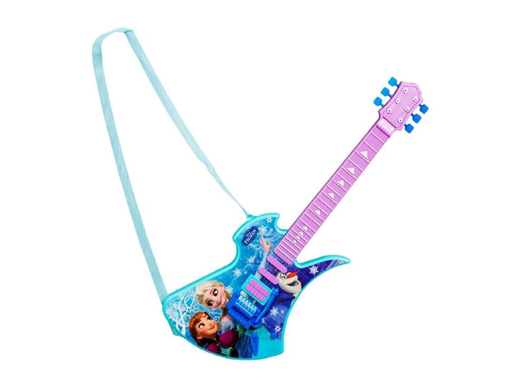 Disney Frozen Deluxe Κιθάρα Παιχνίδι με Ιμάντα Ώμου, 30826 - Disney παιχνίδια   μουσικά όργανα