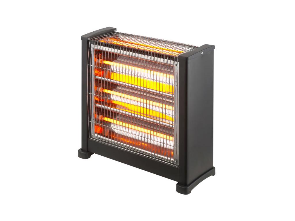 Σόμπα Χαλαζία με 3 διαβαθμίσεις θερμότητας και 4 λάμπες 2400W - OEM θέρμανση και κλιματισμός   θέρμανση