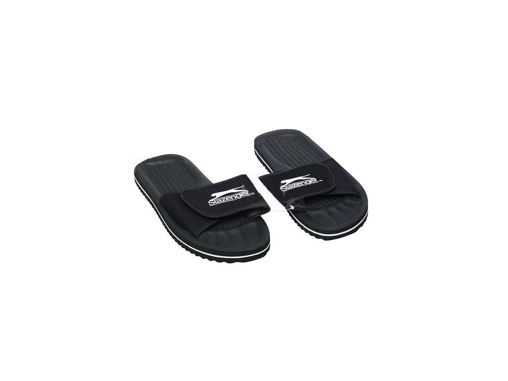Image of Slazenger Ανδρικές Σαγιονάρες Παραλίας και Γυμναστηρίου Flip Flops Slippers σε Μαύρο χρώμα, 41622 - Slazenger