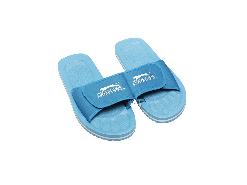 Εικόνα Slazenger Ανδρικές Σαγιονάρες Παραλίας και Γυμναστηρίου Flip Flops Slippers σε γαλάζιο χρώμα, 41622 - Slazenger