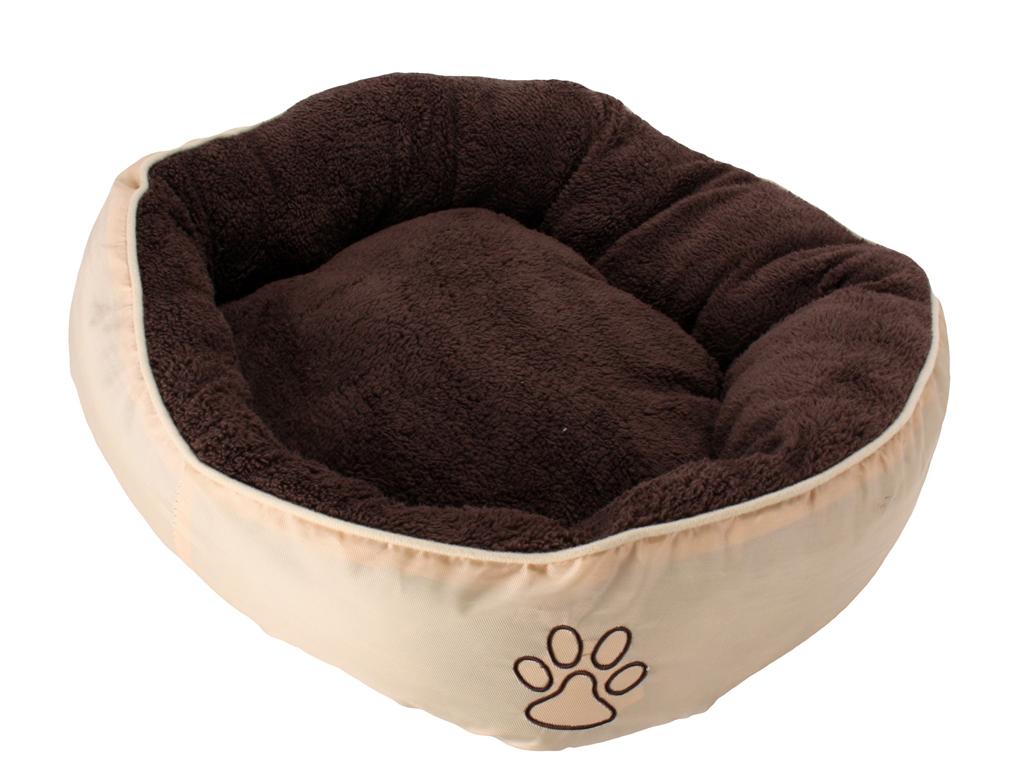 Μαλακό κρεβάτι σκύλου και άλλων κατοικιδίων LUX σε Καφέ/Μπεζ χρώμα και διαστάσει κατοικίδια   κρεβάτια και στρώματα