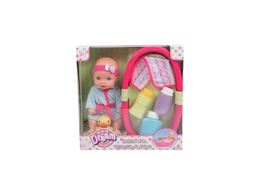 Κούκλα Μωρό με αξεσουάρ μπάνιου και λειτουργία ήχου, 88.16222 - OEM παιχνίδια   κούκλες και λούτρινα
