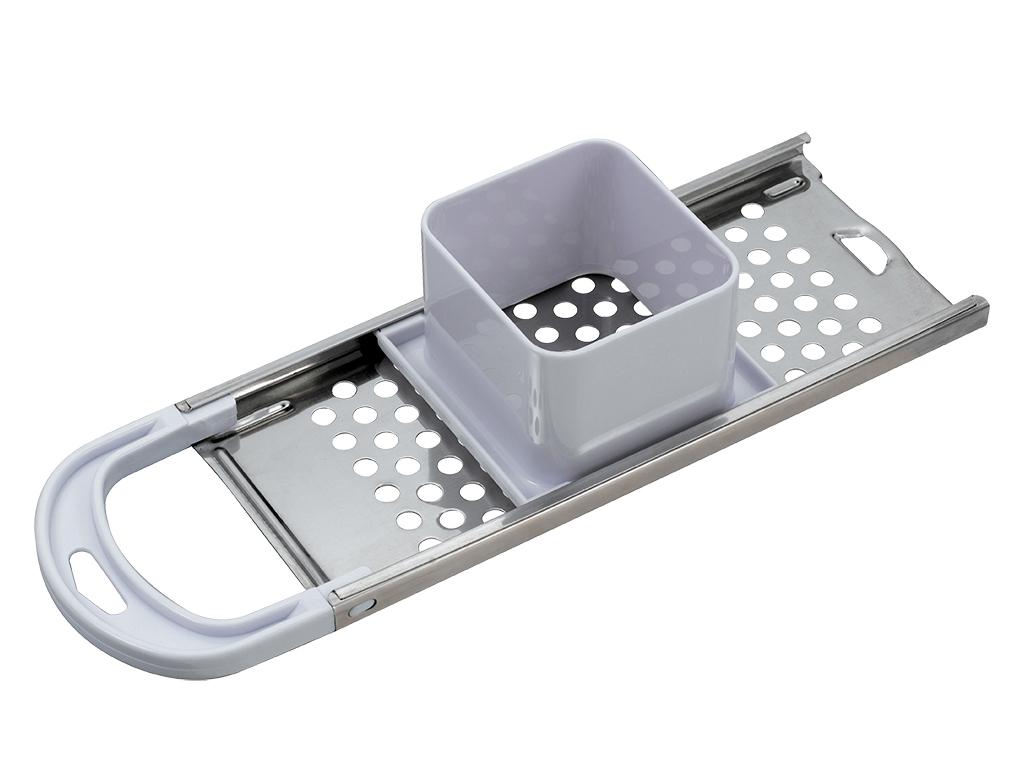 Blaumann Ανοξείδωτος Τρίφτης Τυριού με τρύπες 8mm και Πλαστική Εργονομική Λαβή,  αξεσουάρ και εργαλεία κουζίνας   τρίφτες  κόφτες και αποφλοιωτές