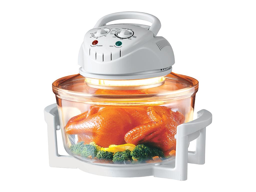 Mydomo Πολυμάγειρας Φουρνάκι Ρομπότ Αλογόνου 12Lt 1300W Θερμού Αέρα για Υγιεινή  ηλεκτρικές οικιακές συσκευές   φουρνάκια
