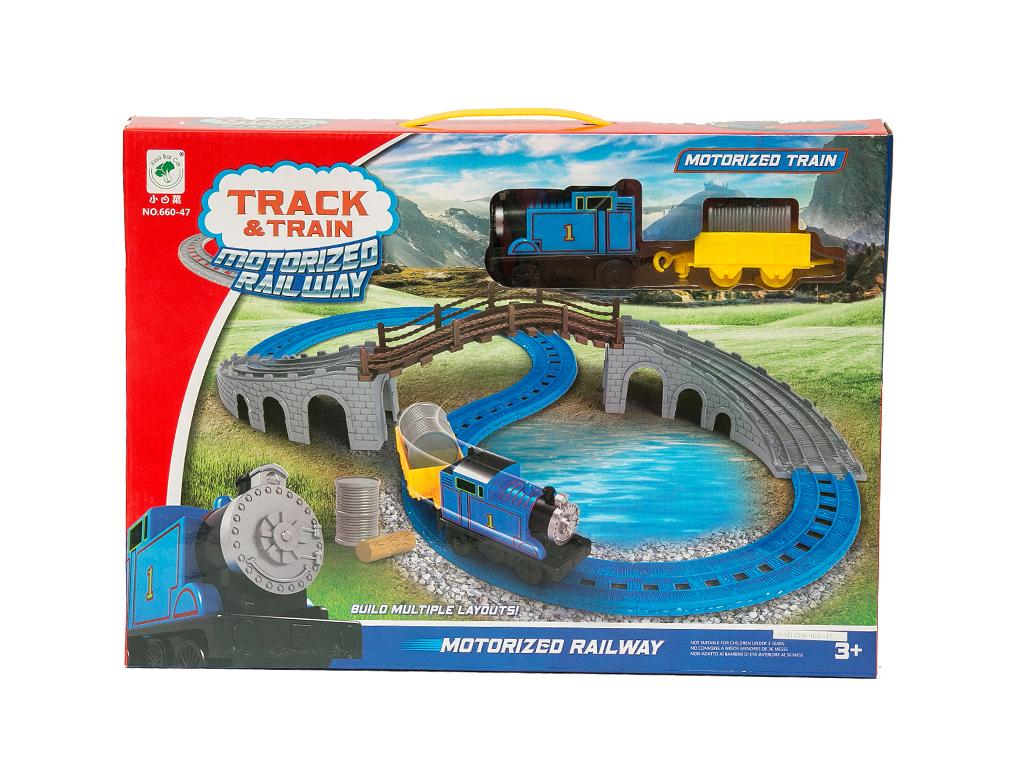 Σετ Παιχνίδι σιδηρόδρομος τρένο με ήχο και καπνό 16 τεμ., 29.2353 - OEM παιχνίδια   τηλεκατευθυνόμενα  πίστες και αυτοκινητάκια