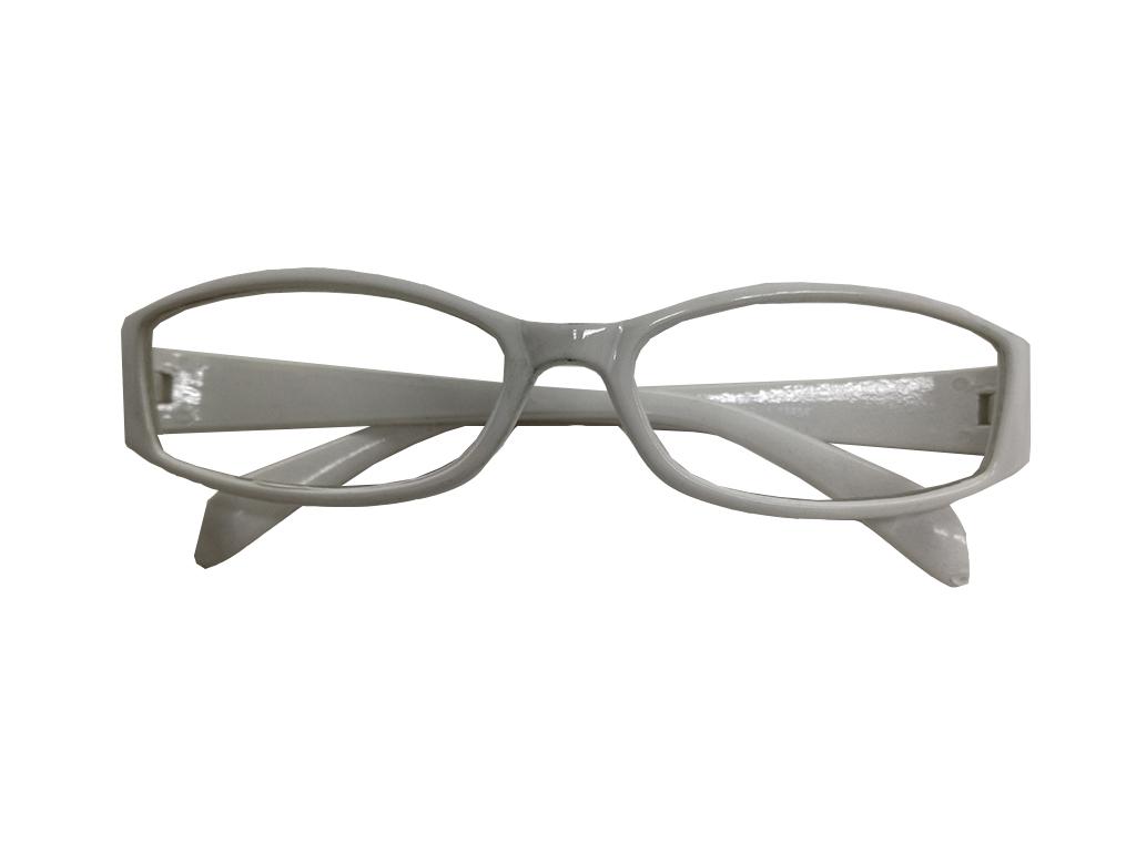 Fashion Zone Unisex Γυαλιά Πρεσβυωπίας Διαβάσματος με Λεπτό Λευκό σκελετό  και βαθμό +2.00 7981cb4c839